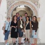 Zwiedzanie zabytkowej synagogi w Pińczowie (2008)