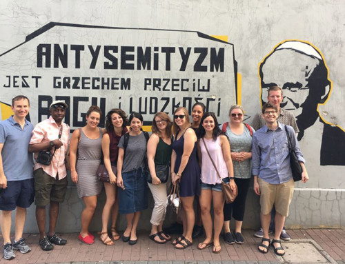 Auschwitz Jewish Center Fellows