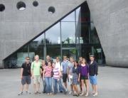 Kadeci przed Muzeum Lotnictwa w Krakowie