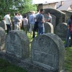 Kadeci na żydowskim cmentarzu wojskowym z I wojny światowej w Zakliczynie