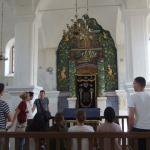 Zwiedzanie zabytkowej synagogi w Bobowej