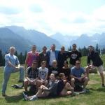 Uczestnicy Academy Program na Rusinowej Polanie w Tatrach