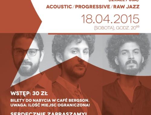 Koncert: Shalosh (Izrael/USA)