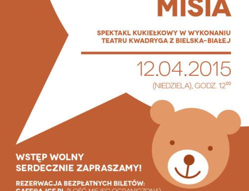 Teatrzyk dla dzieci: Przygoda Misia