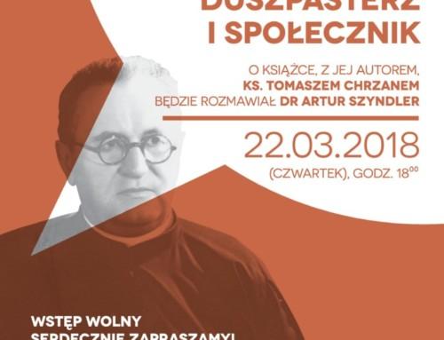 Ks. Jan Skarbek. Spotkanie z autorem książki.