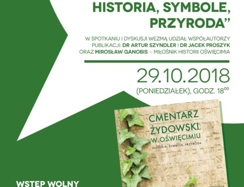 Book launch: The Jewish Cemetery in Oświęcim
