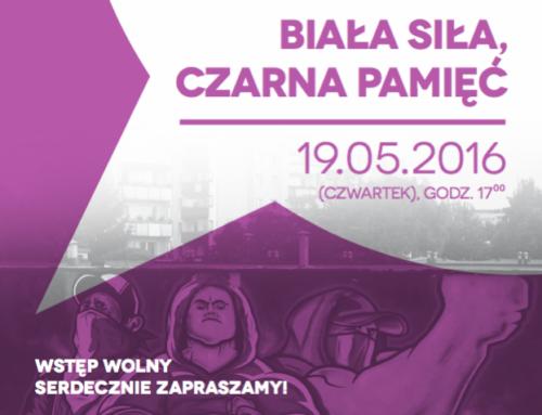 Białystok. White power, dark memory.