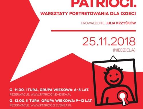 Poles, Jews, Patriots. Art workshops for children.