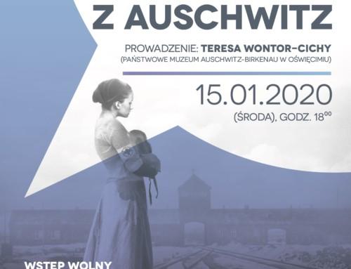 Położna z Auschwitz. Spotkanie autorskie.