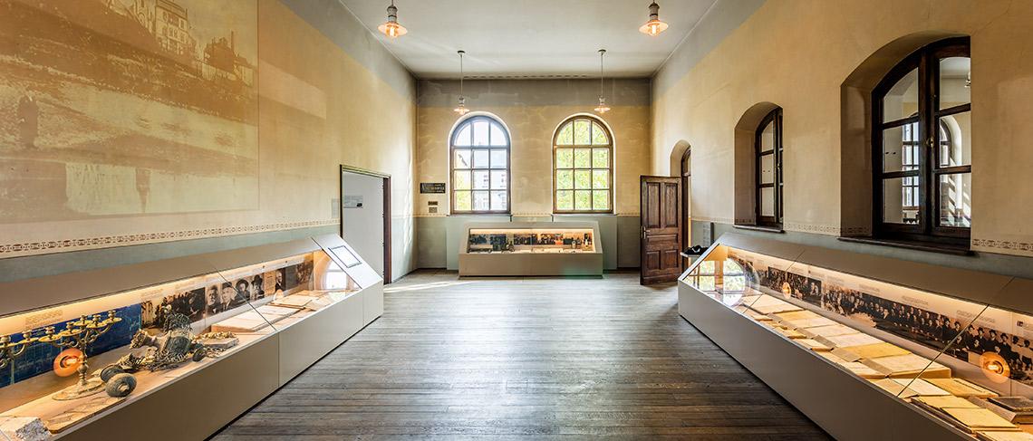 Muzeum Żydowskie w Oświęcimiu - Wystawa